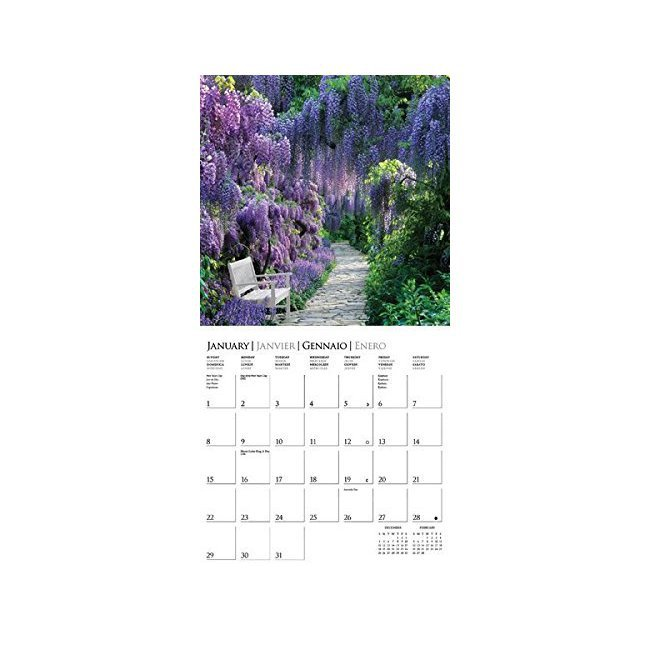 Calendrier jardins 2017 for Calendrier jardin