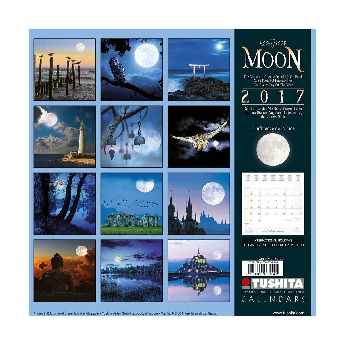 Calendrier 2017 lune - Calendrier de la lune 2017 ...