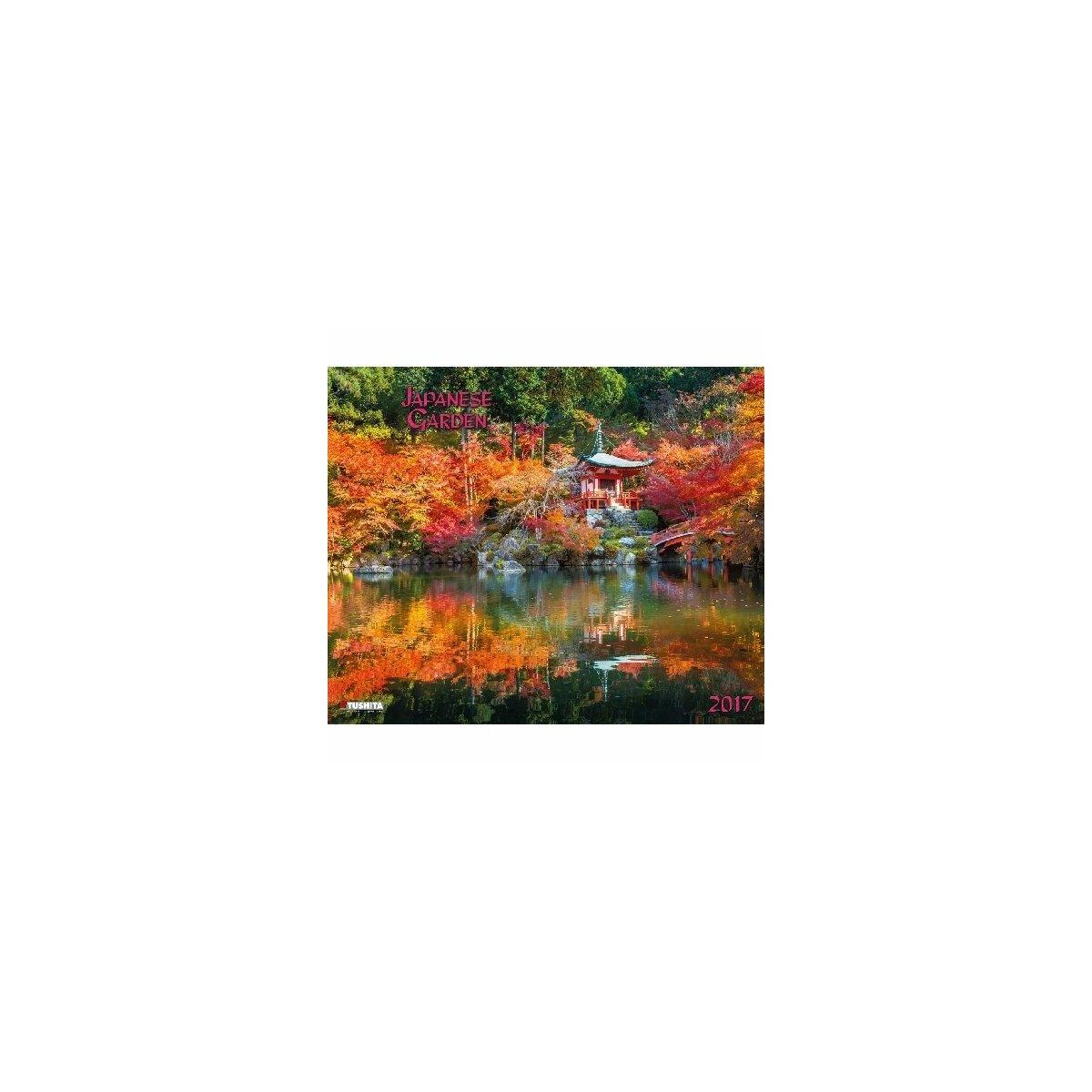 Calendrier 2017 jardin japonais - Pas japonais grand format ...