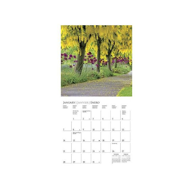Calendrier jardins 2018 for Calendrier jardin