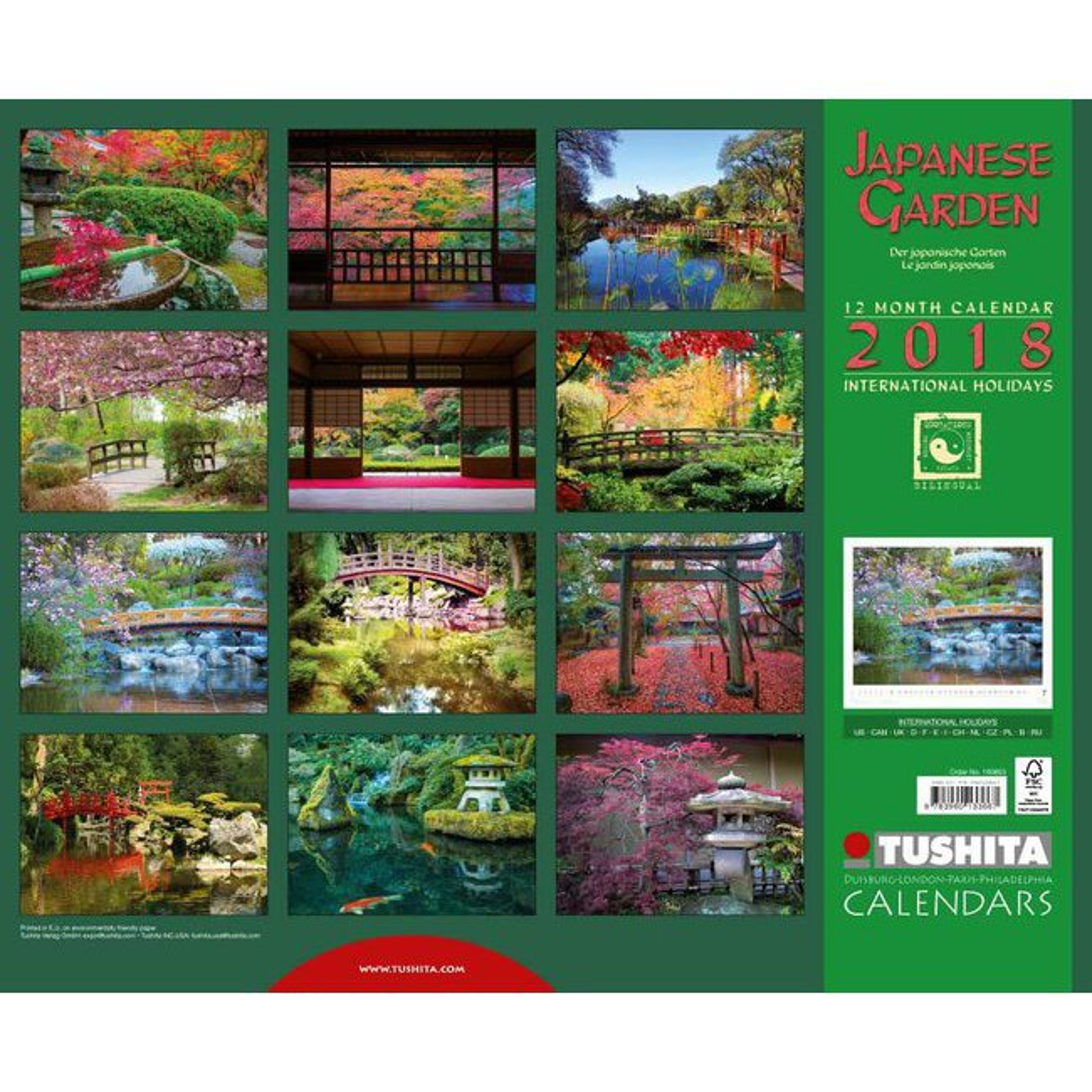 Calendrier 2018 jardin japonais for Calendrier travaux jardin