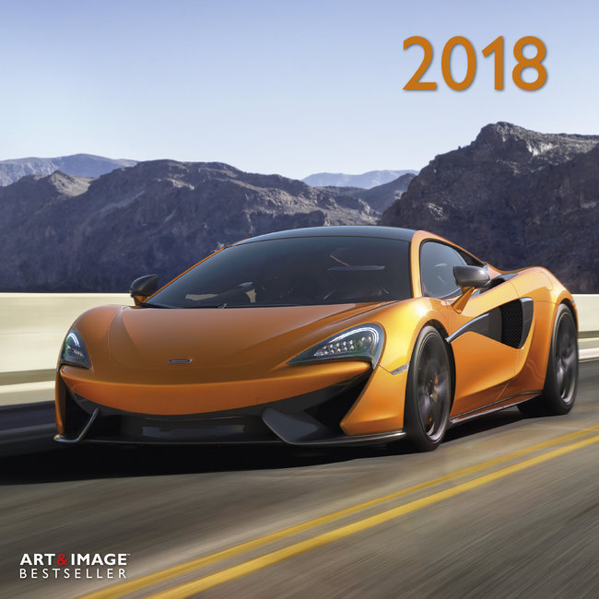 Extrêmement Calendrier 2018 Voiture avec poster offert VH44