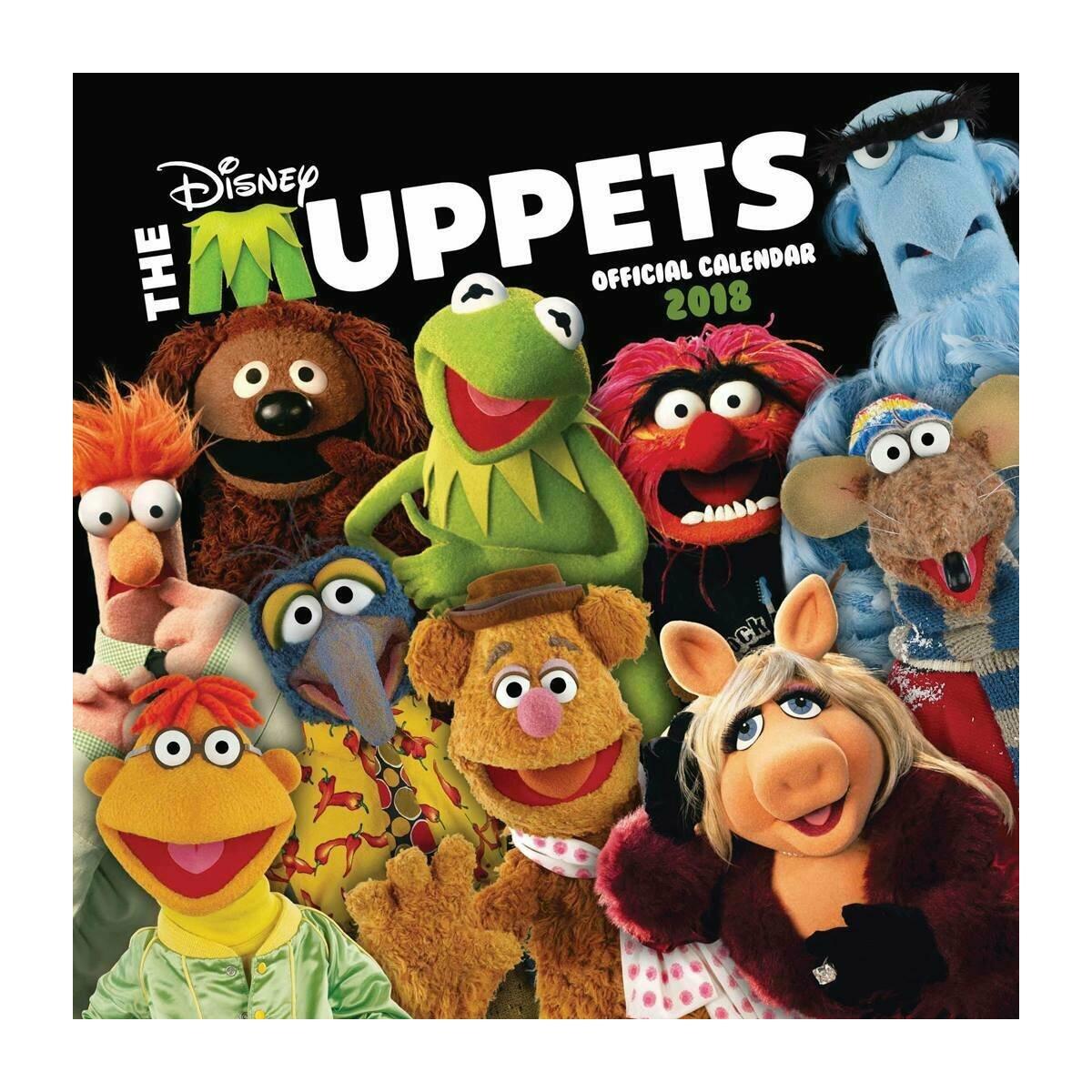 Calendrier 2018 Muppet show
