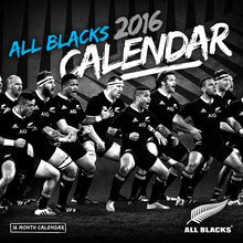 Calendrier 2016 All blacks rugby