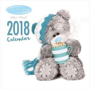 Calendrier 2018 Me to you ourson peluche