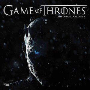 Calendrier 2018 Game of Thrones