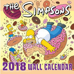 Calendrier 2018 Simpsons