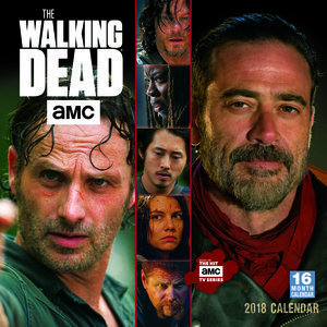 Calendrier 2018 The walking dead