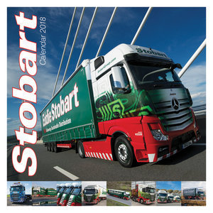 Calendrier 2018 Camion Stobart