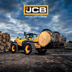 Calendrier 2018 tractopelles JCB