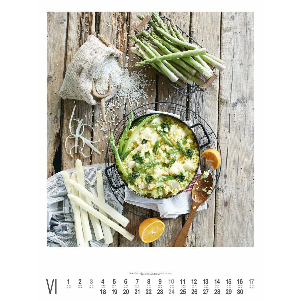 Maxi calendrier poster 2018 cuisine gourmande par rafael - France 3 cuisine gourmande ...