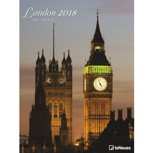 Maxi Calendrier Poster 2018 Londres