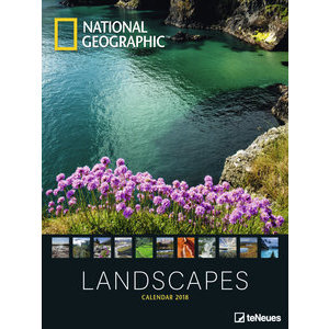 Maxi Calendrier Poster 2018 Paysage par National Geograhic