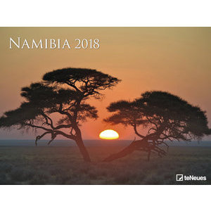 Maxi Calendrier Poster 2018 Namibie