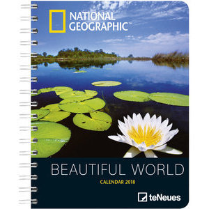 AGENDA DELUXE NATURE PAR NATIONAL GEOGRAPHIC 2018