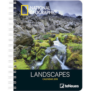 AGENDA DELUXE PAYSAGE PAR NATIONAL GEOGRAPHIC 2018