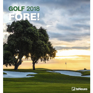 Maxi Calendrier 2018 Art et photo Golf