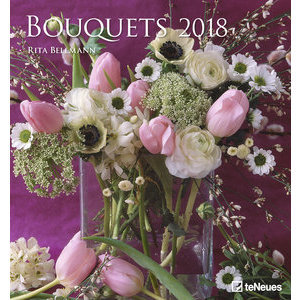 Maxi Calendrier 2018 Art et photo Bouquet de fleurs