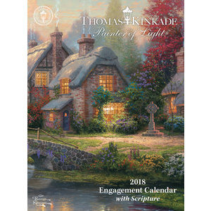 AGENDA DE POCHE THOMAS KINKADE avec CITATIONS 2018