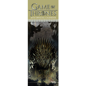 Calendrier 2018 Game of Throne slim (bt)