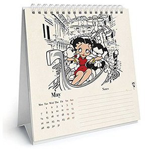 CALENDRIER CHEVALET BETTY BOOP 2018