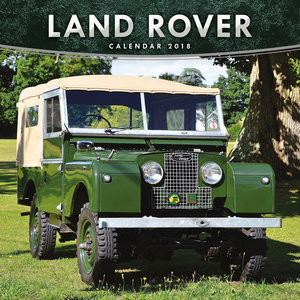 Calendrier 2018 Land Rover