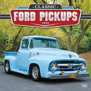 Calendrier 2018 Pickup Ford