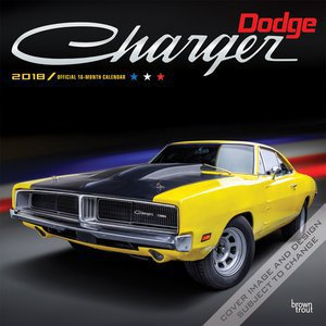 Calendrier 2018 Dodge Charger