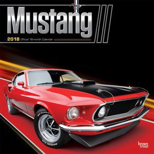 Calendrier 2018 Mustang