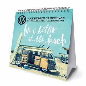 CALENDRIER CHEVALET COMBI / CAMPERS 2018