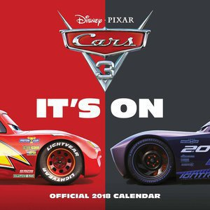 Calendrier 2018 Cars 3