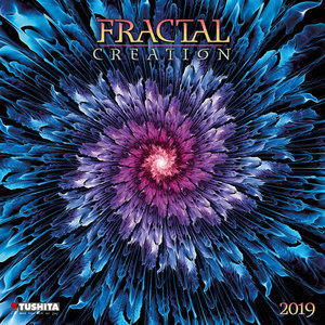 Calendrier 2019 Fractale creation