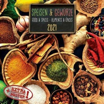 Calendrier 2021 cuisine et epices