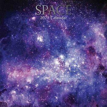 Calendrier 2021 Espace