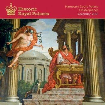 Calendrier 2021 Peinture des palais royaux