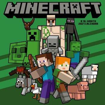 Calendrier 2021 Minecraft