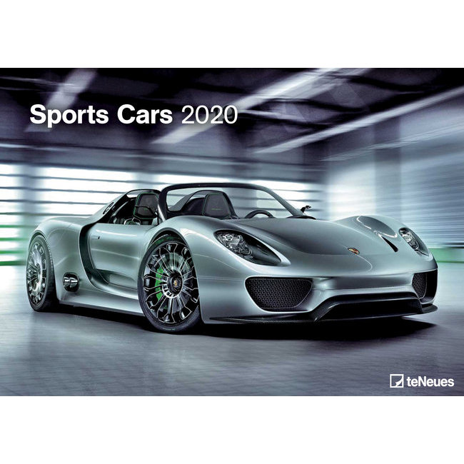 Calendrier 2020 Sport.Maxi Calendrier 2020voiture Sportive