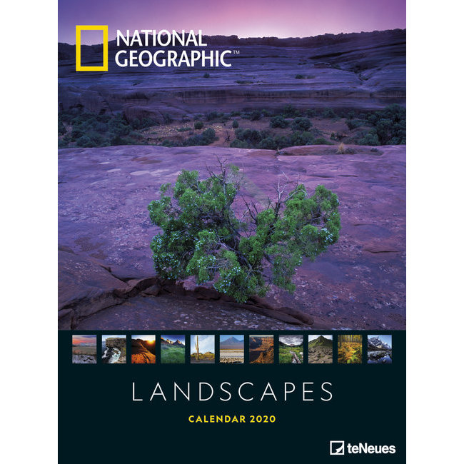 Calendrier National 2020.Maxi Calendrier Poster 2020 Paysage Par National Geograhic