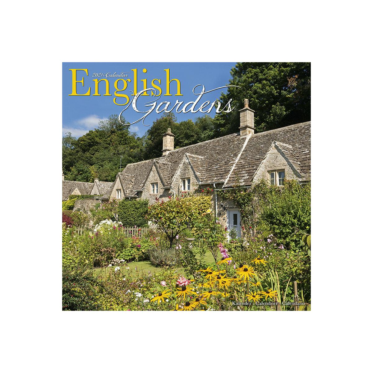Calendrier 2021 Jardin anglais