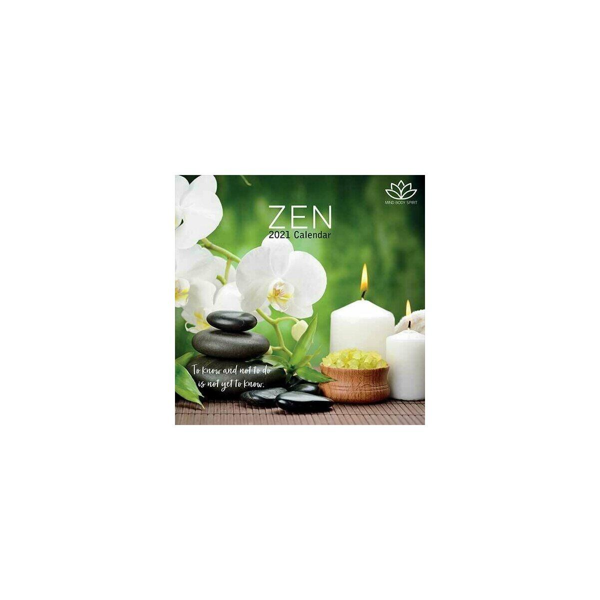 Calendrier 2021 Zen
