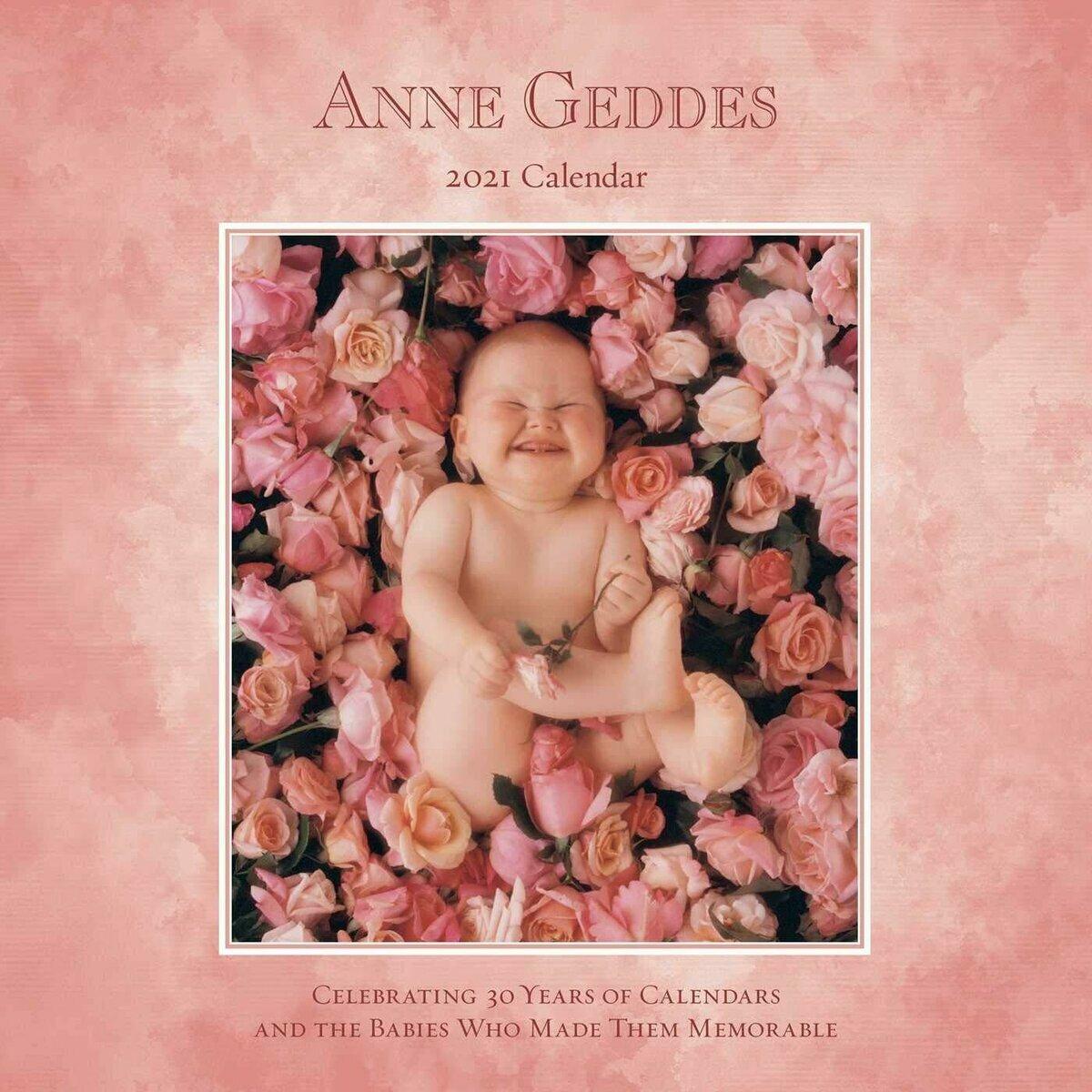 calendrier 2021 Anne geddes nouveaux nés