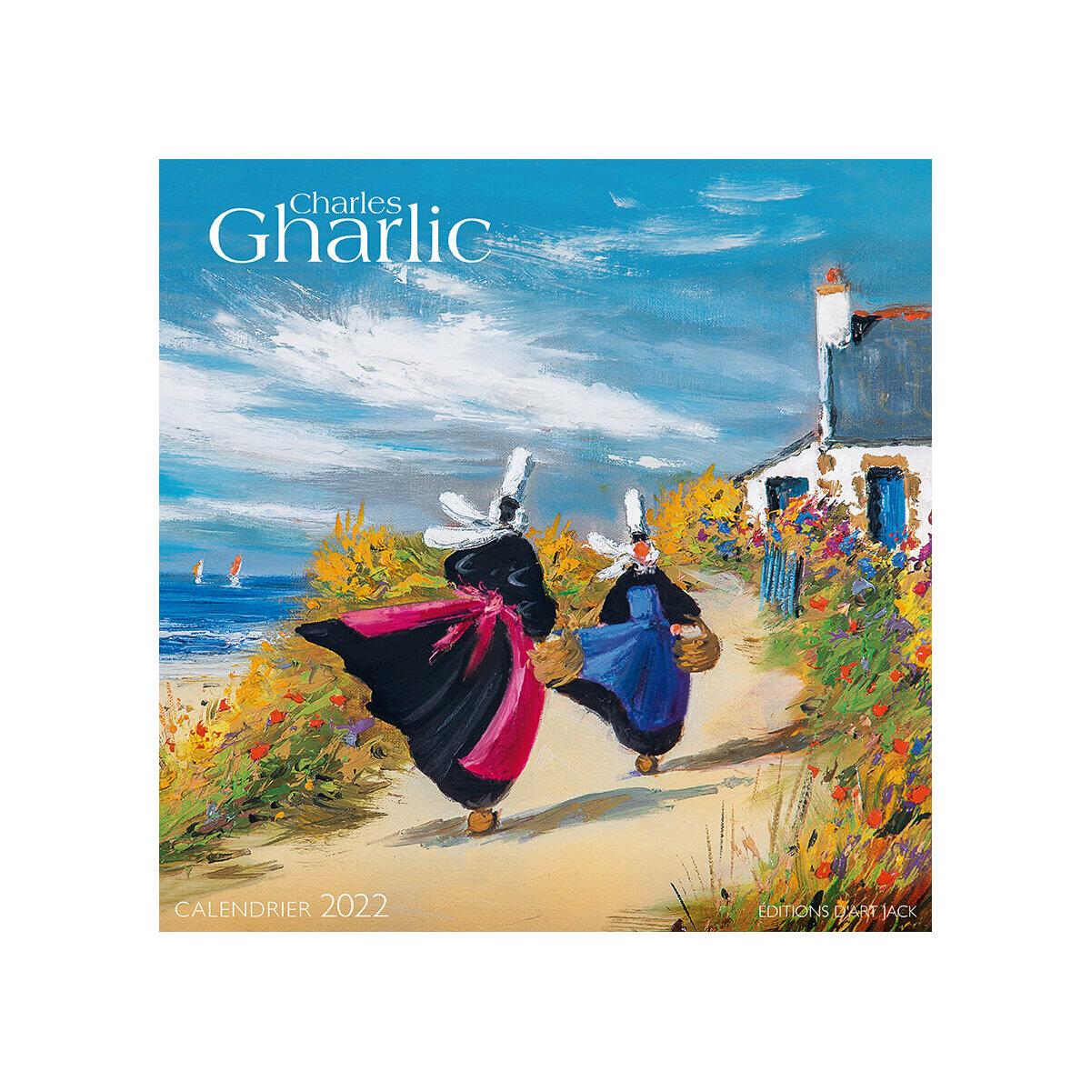 Calendrier Breton 2022 calendrier Bretagne par Charles Gharlic 2022