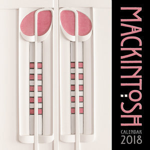 Calendrier 2018 Architecte Charles Rennie Mackintosh