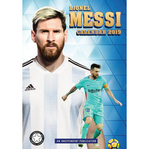 Calendrier 2019 Lionel Messi format A3