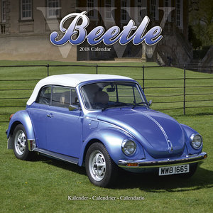 Calendrier 2018 beetle coccinelle de collection