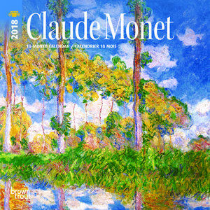 Mini calendrier 2018 Monet