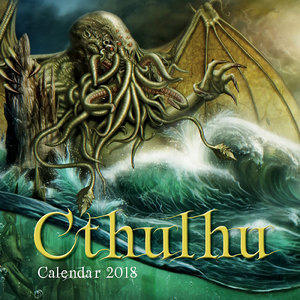 Calendrier 2018 Cthulhu - extraterrestre