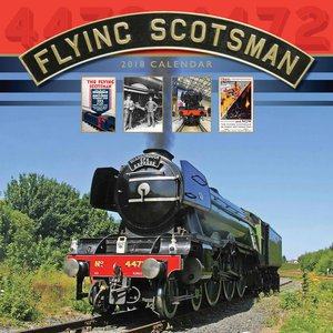 Calendrier 2018 Emblématique train anglais- flying scotsman