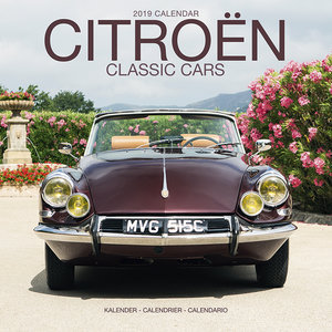 Calendrier 2019 Citroen de collection
