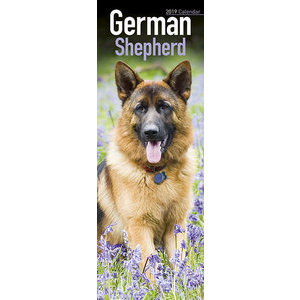 Calendrier 2019 Berger allemand slim